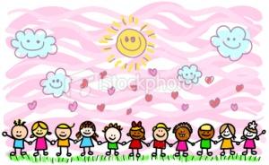 istockphoto_10012900-happy-children-holding-hands-in-nature-cartoon